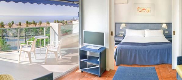 Blaumar Hotel frente al mar en Salou