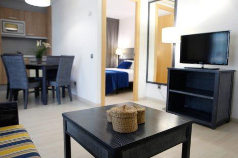 Apartamentos familiares de hotel Blaumar en Salou