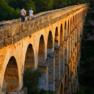 pont del diable, acueducte de Les Ferreres