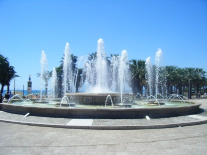 Fuente luminosa de Salou, turismo, viajes