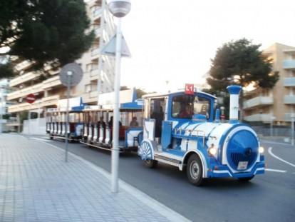 Tren turístico ciudad salou