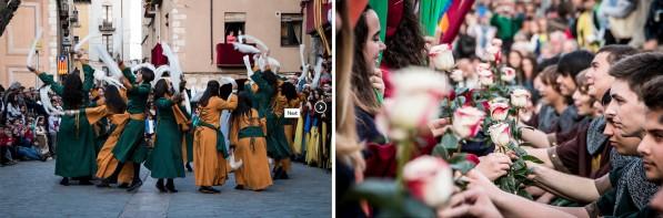 Esdeveniments de la fira medieval de Montblanc