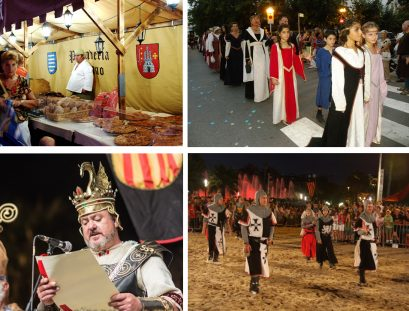 fira medieval salou