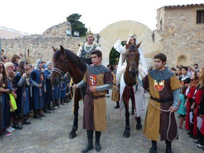 festa del rei Jaume a Salou