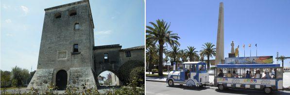 Torre Vella i Tren Turístic de Salou