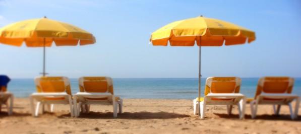 Vacaciones en la playa de salou