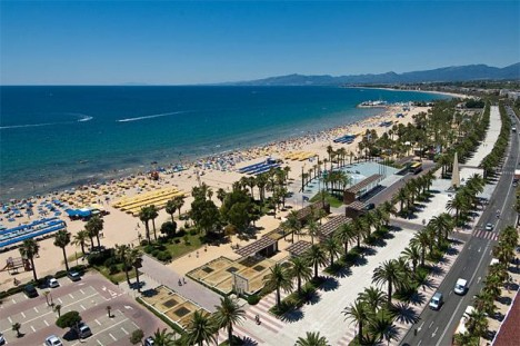 playa, levante, salou