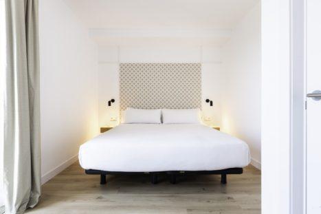 Dormitorio Port Plaza Apartments en Tarragona