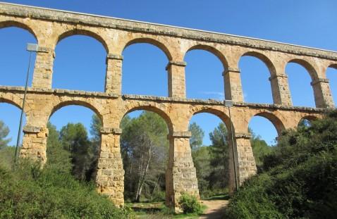 pont diable, vista, romano