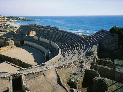 ruinas romanas en Tarragona